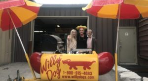 Willydogs Hot Dog Cart