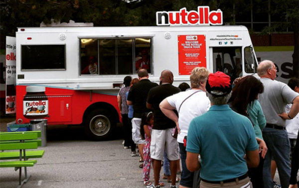 Nutella Marketing Truck