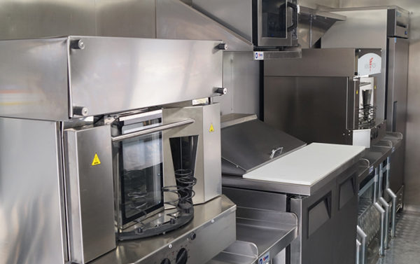 Kono Food Truck Interior