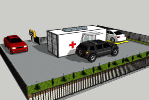 disaster relief containers